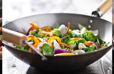 cucinare con il wok
